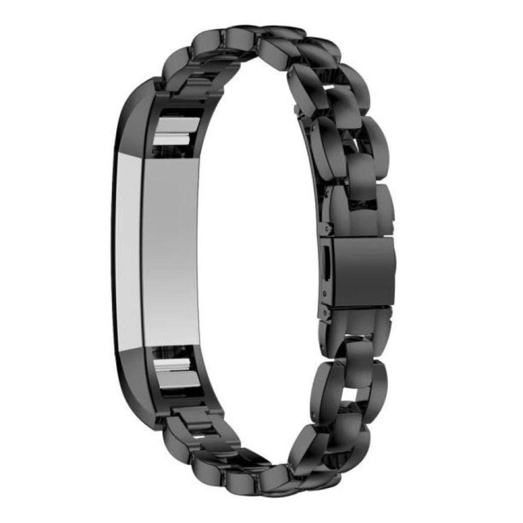 Bestow Fitbit Alta HR Reloj Inteligente Reloj de Pulsera de Acero Inoxidable Correa de Mu?eca Reloj de Pulsera de aparatos electrš®nicos(Azul): Amazon.es: ...
