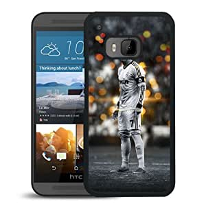 Ronaldo Black And White Durable High Quality HTC ONE M9 Phone Case
