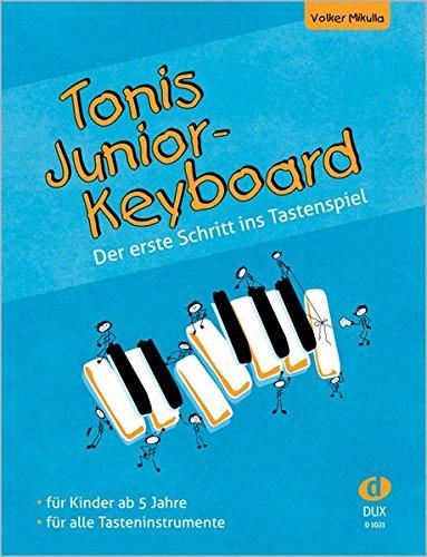 Tonis Junior Keyboard ab 5 Jahre: Der erste Schritt ins Tastenspiel