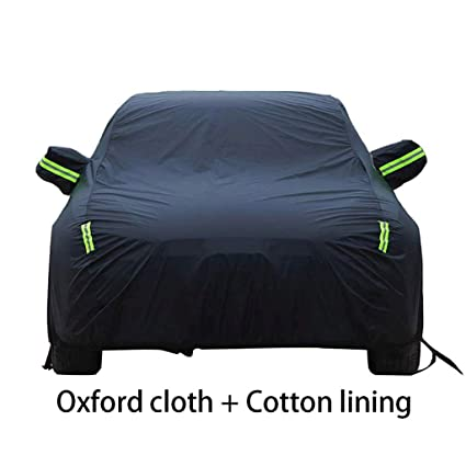 Color : Green Car Cover Waterproof Breathable,Suitable for Kia Rio Windproof Exterior Accessories