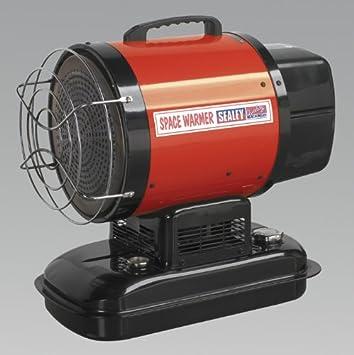 Sealey IR18 Infrared Paraffin/Diesel Heater 18kW 230V: Amazon co uk