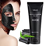 Facial Mask For Acne Scars - Blackhead Remover Mask,Black Mask,Deep Cleansing Anti Wrinkle Peel Off Charcoal Clay Black Mask for Acne,Blackheads,Facial Cleaning,Blemishes, Large Pores Strawberry nose.Unisex 2.12oz (60g)