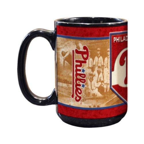 (The Memory Company Philadelphia Phillies 15oz. Nostalgic Mug)