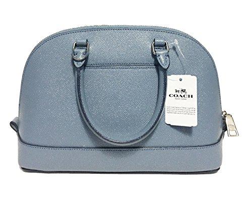 Purse Coach Dusk Inclined Shoulder Sv Sierra Shoulder Women��s Blue Mini Handbag Satchel Glitter HgZgf