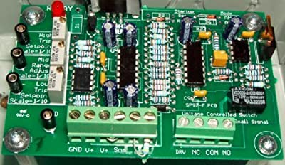 Solar Converters VCS-1AH-TC 10-60VDC, 1A ACTIVE HIGH, TEMP.COMPENSATED VOLTAGE CONTROLLED SWITCH