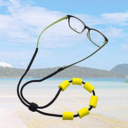 Gomas gafas negro caucho montar cordones cadenas sol lectura 15 pares 30 uds