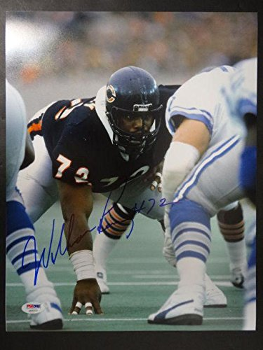 623a96c5ca4 William Perry Autographed Photo - 11x14 AA93121 - PSA/DNA Certified -  Autographed NFL Photos at Amazon's Sports Collectibles Store