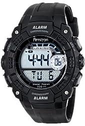 Armitron Sport Men's 40/8290BLK Chronograph Digital Black Resin Strap Watch