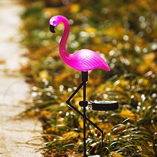 Pink Flamingo Solar Light