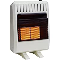 Avenger FDT2IR Dual Fuel Vent Free Infrared Heater, Thermostat, Blower included, 20,000 BTU