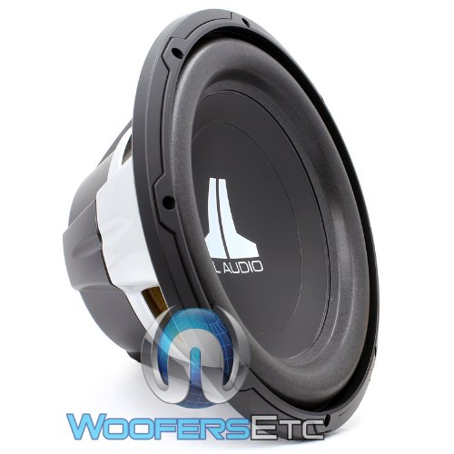 12W0V3-4 – JL Audio 12″ Single 4-Ohm W0V3 Series Subwoofer