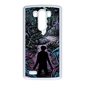Rock Band ADTR A Day To Remember LG G3 Cell Phone Case White JR5209124