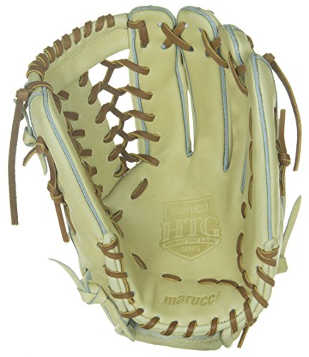 Marucci Honor the Game Series T-Web Outfield Gloves (Camel), 12.75