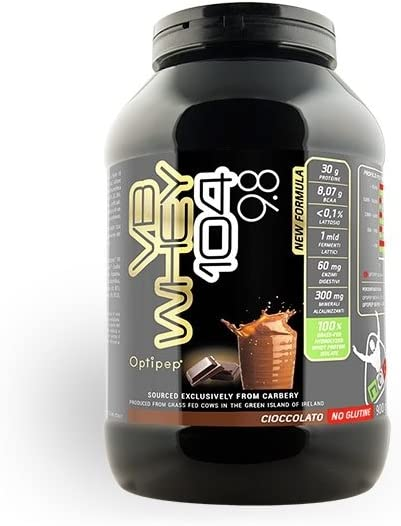 Aislado de proteína hidrolizado por una enzima, sabor a chocolate