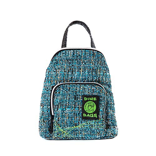 (Club Kid Mini Backpack - Knapsack w/Smell Proof Pouch & Secret Pocket (Glass))