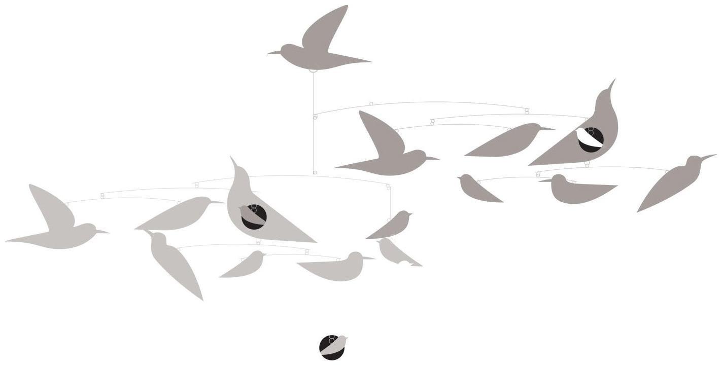 Djeco Mobile - Katsumi Komagata's White Birds DD04371