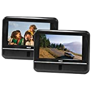 RCA DRC6272 7-Inch Twin Mobile DVD Players - play two different DVDs!
