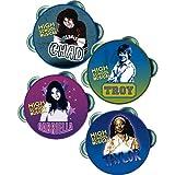 : High School Musical Mini Tambourines, 4ct