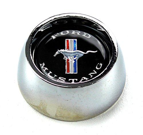 (Mustang Grant Steering Wheel Center Cap 1964 1/2 - 1973 - Scott Drake)
