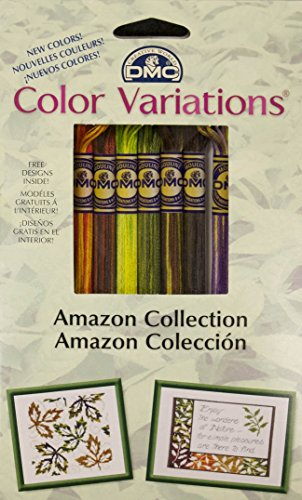 DMC Color Variations Floss Pack, Amazon 8-Pack