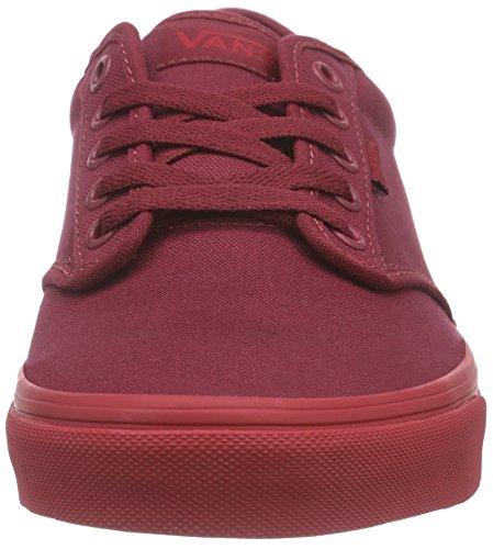 Bestelwagens Atwood Mannen Schoenen (check Liner) Bordeaux Rode Tennisschoenen