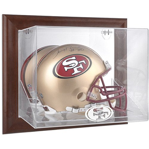 49ers helmet display case - 4