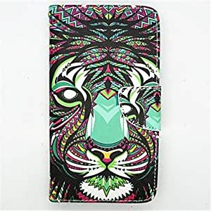 ZL Tiger Pattern PU Leather Full Body Case with Stand for Samsung Galaxy Note 3