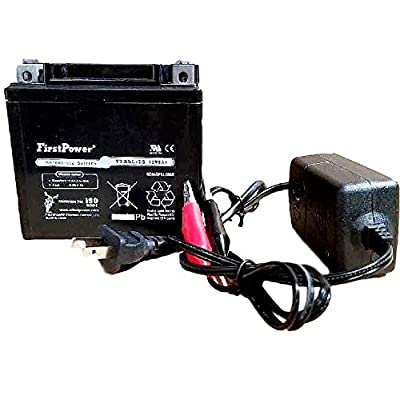 FirstPower YTX5L-BS W/ Charger Motorcycle Battery Replacement