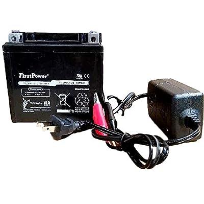 FirstPower YTX5L-BS W/Charger for X5L-BS 5LBS GTX5L 32X5B 44022 Batter