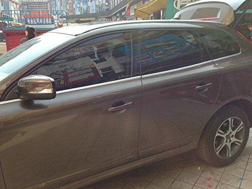 2009 - 2015 para Volvo XC60 ventana inferior alféizar para marco Borde inoxidable mate 6: Amazon.es: Coche y moto