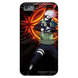 Bumper phone cases Scratch-proof Protection Cases Covers First-class iphone 5 / 5s - naruto shippuden kakashi hatake