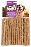 Sergeant'S Canine Prime 5 Inch Rawhide Twist Sticks For Dogs, 50 Count For Sale