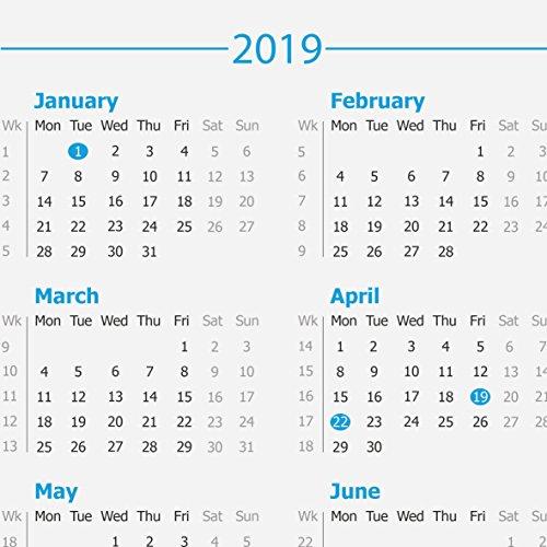 Calendar Uae Printable : A year calendar desk pad buy online in