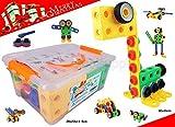 koolsupply 90-Piece Creative Builder Block Set for Kids