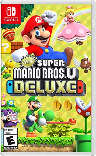 New Super Mario Bros. U Deluxe - Nintendo Switch (Best Snes Strategy Games)