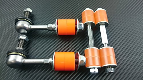 (P2M NISSAN S13 S14 240SX FRONT & REAR URETHANE SWAY BAR END LINK COMBO P2-SBLCMB134-HC)