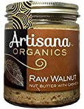 Artisana Organics - Walnut Nut Butter with Cashews, Two Ingredients Handmade Rich & Thick Spread, USDA & QAI Organic Certified, Non-GMO, Vegan & Gluten Free (8 oz)