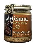 Artisana Organics - Walnut Nut Butter with Cashews, Two Ingredients Handmade Rich & Thick Spread, USDA & QAI Organic Certified, Non-GMO, Vegan & Gluten Free (8 oz)