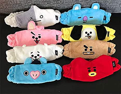 PunkStyle BTS Bangtan Boys Cartoon Headband Sports Sweat-Absorbent Cute Clamping Band for Boys and Girls