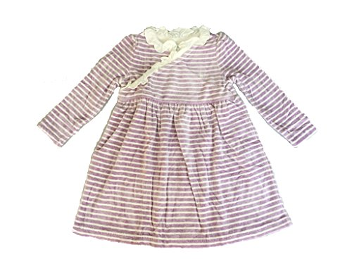 Velour Dress Set (Ralph Lauren Girl Long Sleeve Velour Dress Set 18 Month Purple Multi)