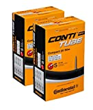 Continental 42mm Presta Valve Tube (2-Pack, 26 x 1.75-2.5cc)