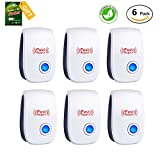 #6: Pest Control Ultrasonic Repeller - Electronic Plug In repellent indoor for insect - Mosquitoes, Mice, Spiders, Ant, Rats, Roaches, bugs, Non-toxic Eco-Friendly, Humans & Pets Safe