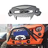 Front Bumper Aluminum 4x4 Offroad Hawse Fairlead Synthetic Winch Beast Series Universal Compatible with 2018JL -071