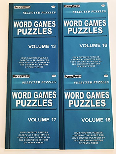 (Issues 13, 16, 17 and 18 of Word Games Puzzles from the Penny Press Selected Puzzle Series)