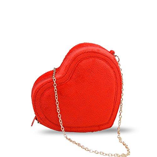 A messenger A Mini cuori estate borsa bag di cuore di A Catena forma amore qC1OCH