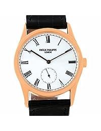Patek Philippe Calatrava automatic-self-wind white mens Watch 3796R (Certified Pre-owned)