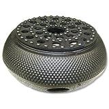 Happy Sales HSTW5, Cast Iron Teapot Warmer ARR Black
