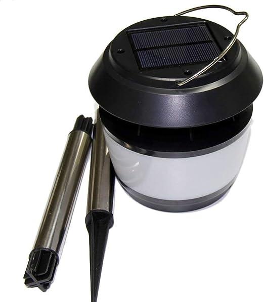 Aimshew Aplique de jardín al Aire Libre Inteligente Jardín Solar Luz LED con Repelente de Mosquitos Luces repelentes de Mosquitos ultrasónicas LED Lámpara de Pin Iluminación a Prueba de Intemperie: Amazon.es: Hogar