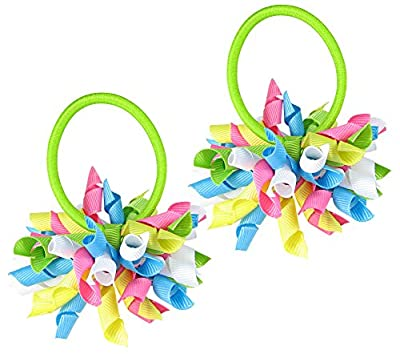 HipGirl Boutique Girls/Women Korker No Crease Ouchless Hair Bow Ponytail Holders