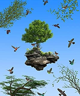 Generic Sky Ceiling Wallpaper Custom 3d Stereoscopic Bird Park Nature Paintings